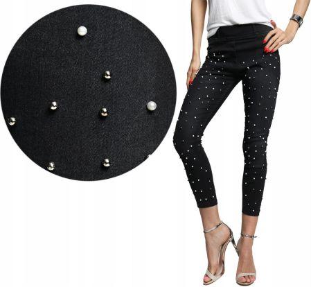 5ee4bfa053 Spodnie rybaczki perełki gumka Jeans 874 3XL Allegro