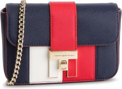 57c31a962d002 Torebka TOMMY HILFIGER - Th Heritage Mini Crossover AW0AW06409 901 eobuwie