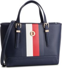 08acbde446754 Torebka TOMMY HILFIGER - Honey Small Tote Corp AW0AW06866 901 eobuwie