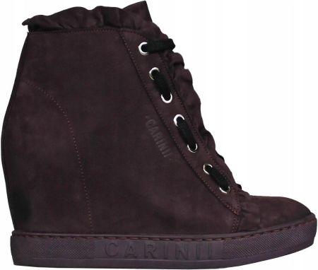 cc1a6bf7bf2c5 Sneakersy CARINII B4845 (Bordowy) ANDORA r.37 Allegro