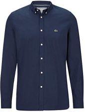 e777fdd12 Amazon Lacoste męska koszula Slim Fit z długim rękawem, kolor: morski ,  rozmiar: 41