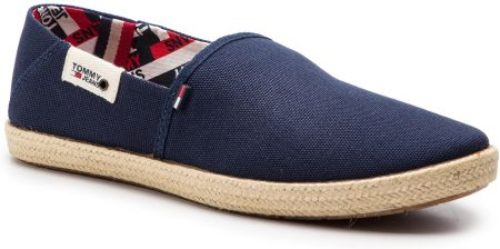 b924e65986077 Espadryle TOMMY HILFIGER - JEANS Summer Slip On Shoe EM0EM00027 Ink ...