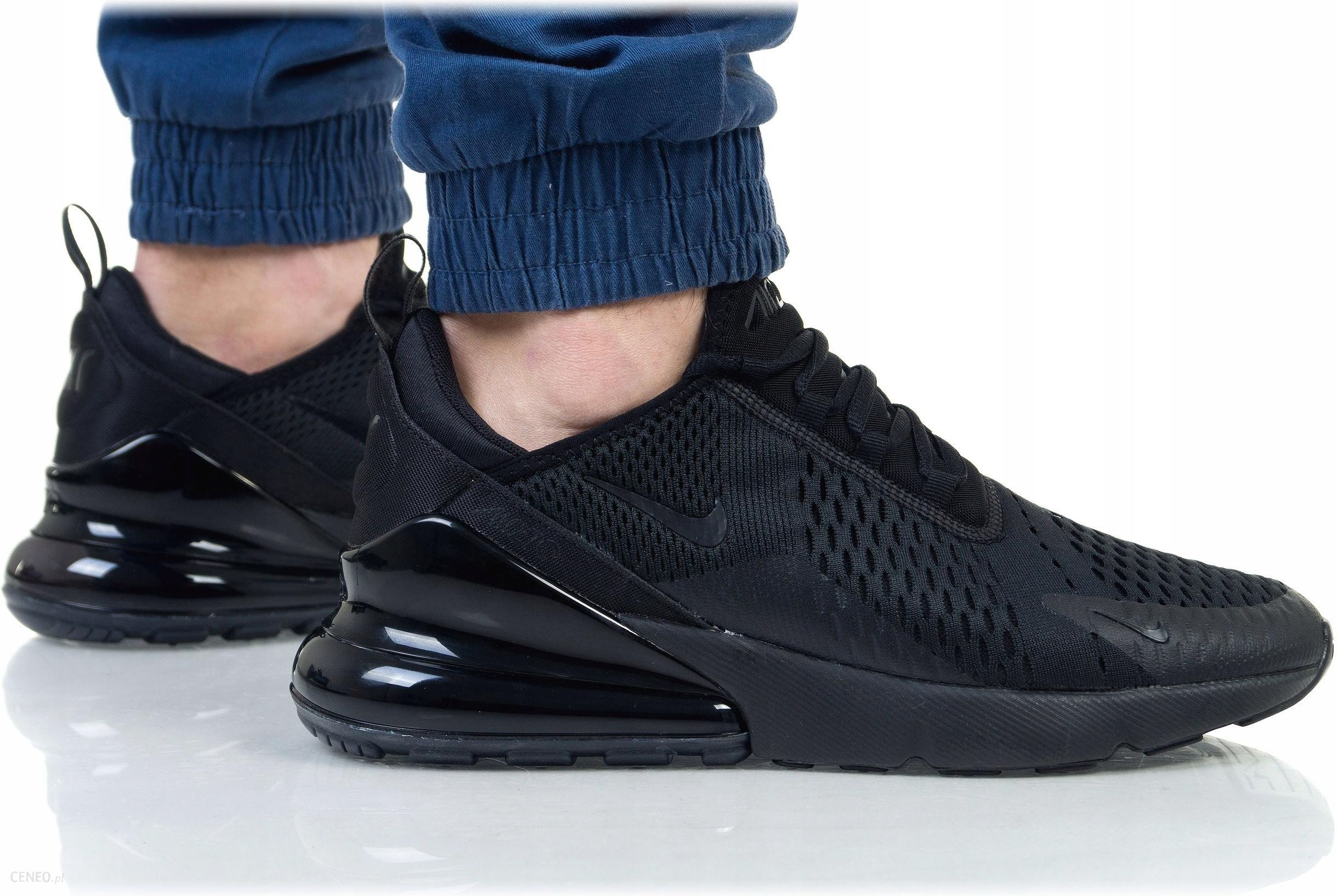 Nike Air Max 270 Trainers In Black AH8050 005 Black Buty