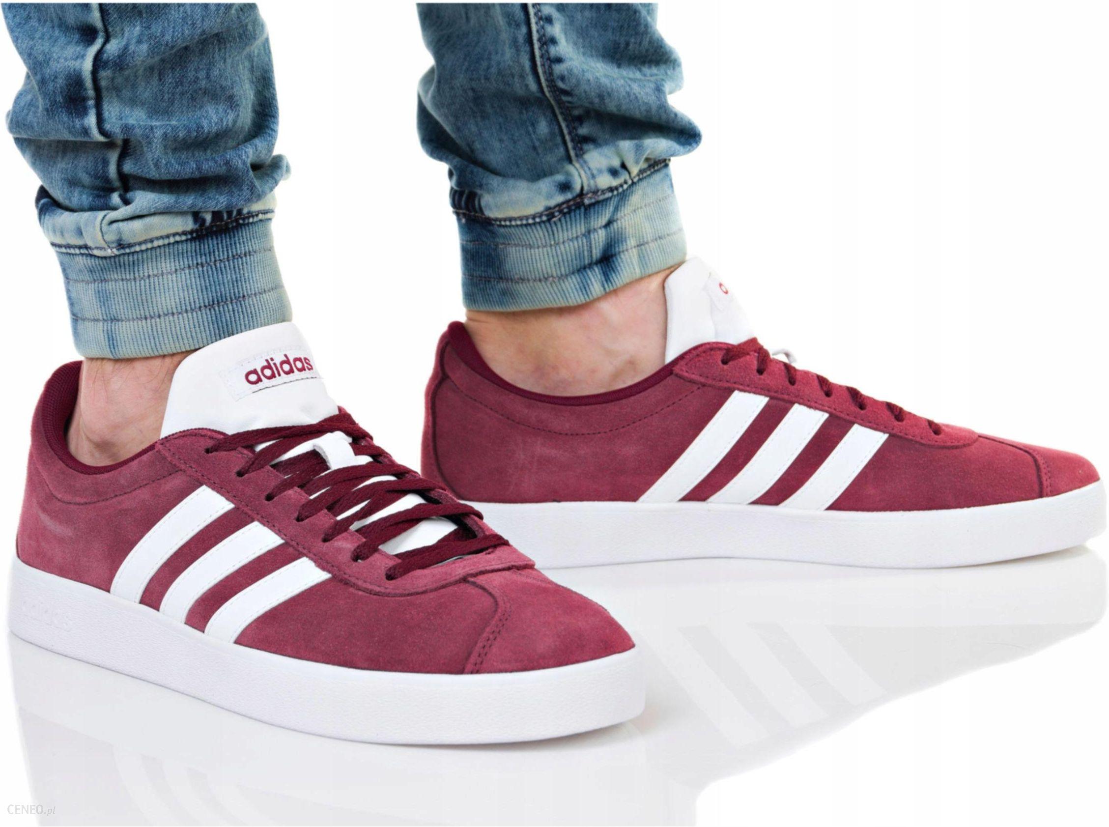 4469984af265d1 Buty Adidas VL Court 2.0 DA9855 Bordowe R. 46 - Ceny i opinie - Ceneo.pl