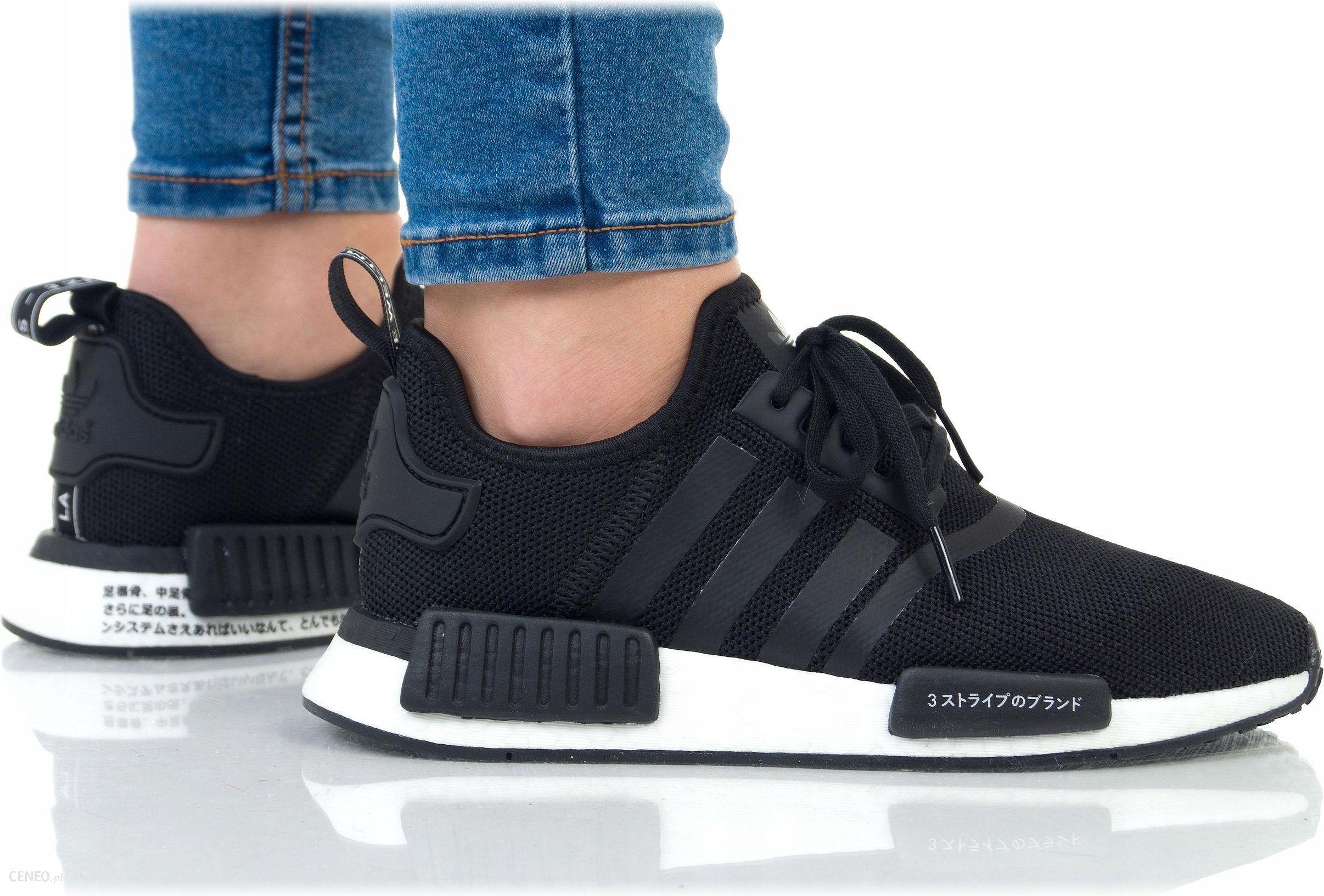 Damskie adidas NMD R1 PK W Sneakersy Damskie Szare Trampki
