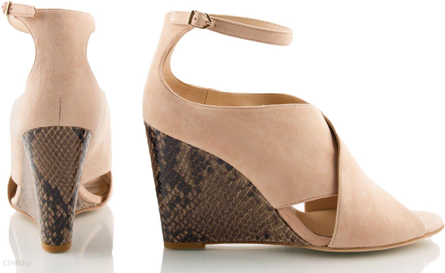 b97607a1 HUGO BOSS oryginalne buty damskie na koturnie r 39 - Ceny i opinie ...
