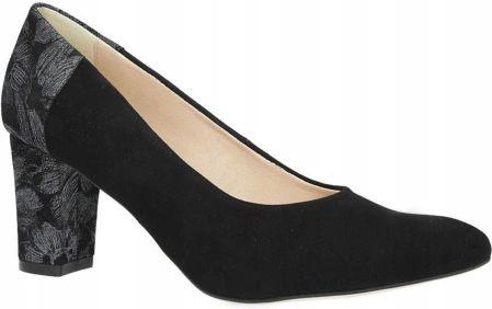 079417d8 Ryłko czółenka buty 9S208 T1 czarny welur 39 - Ceny i opinie - Ceneo.pl