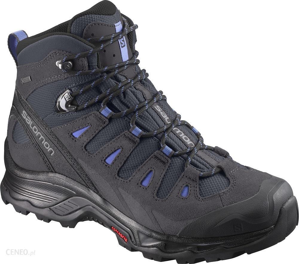 Buty trekkingowe Salomon Damskie Quest Prime Gore Tex® L39972400 Szary Ceny i opinie Ceneo.pl