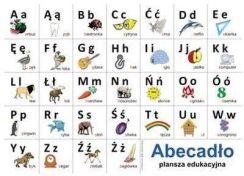 Plansze Edukacyjne Abecadło Języka Polskiego Ceny I Opinie Ceneopl