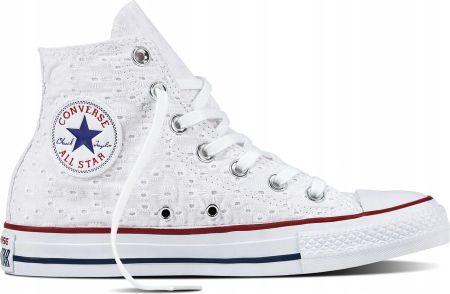 Trampki Converse Chuck Taylor All Star OX Hi Optic White - Ceny i ... ec7eca41973