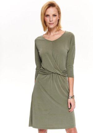 c1857dc3f5 PtakModa - Trapezowa sukienka z ozdobnymi haftami LUIZA - Ceny i ...