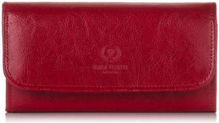 0e99886702f45 Skórzane portfele damskie - Barberini s - Granatowy - Ceny i opinie ...
