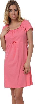 d90337de83ce0f Koszulka nocna Koszula Nocna Model Dagna kr.r. Pink - Italian Fashion