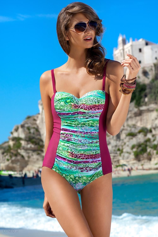 ec1d688e0f4fcf Jednoczęściowy strój kąpielowy Kostium Kąpielowy Model Otylia Bordo - Ewlon  - zdjęcie 1