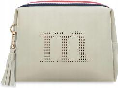 3426e151f7312 Torebka Listonoszka Monnari Lampasy Logo Frędzle Allegro
