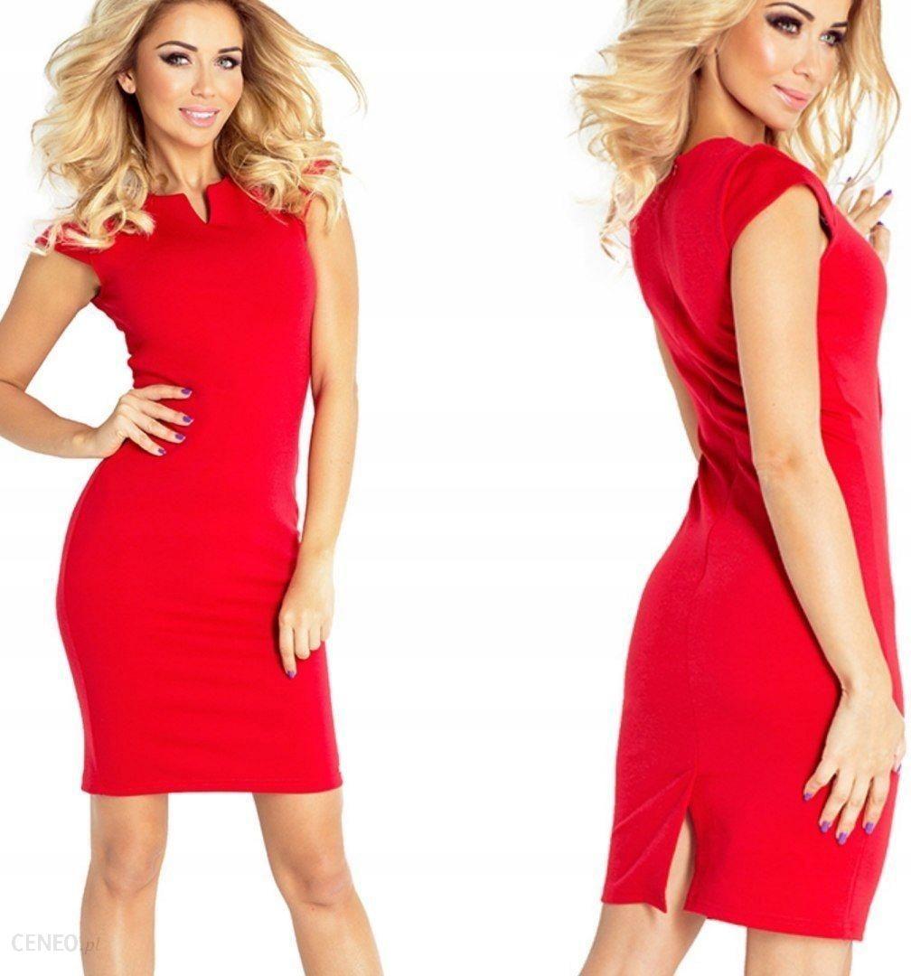 f51e6e7874 Elegancka dopasowana sukienka mini Czerwona XL - Ceny i opinie ...