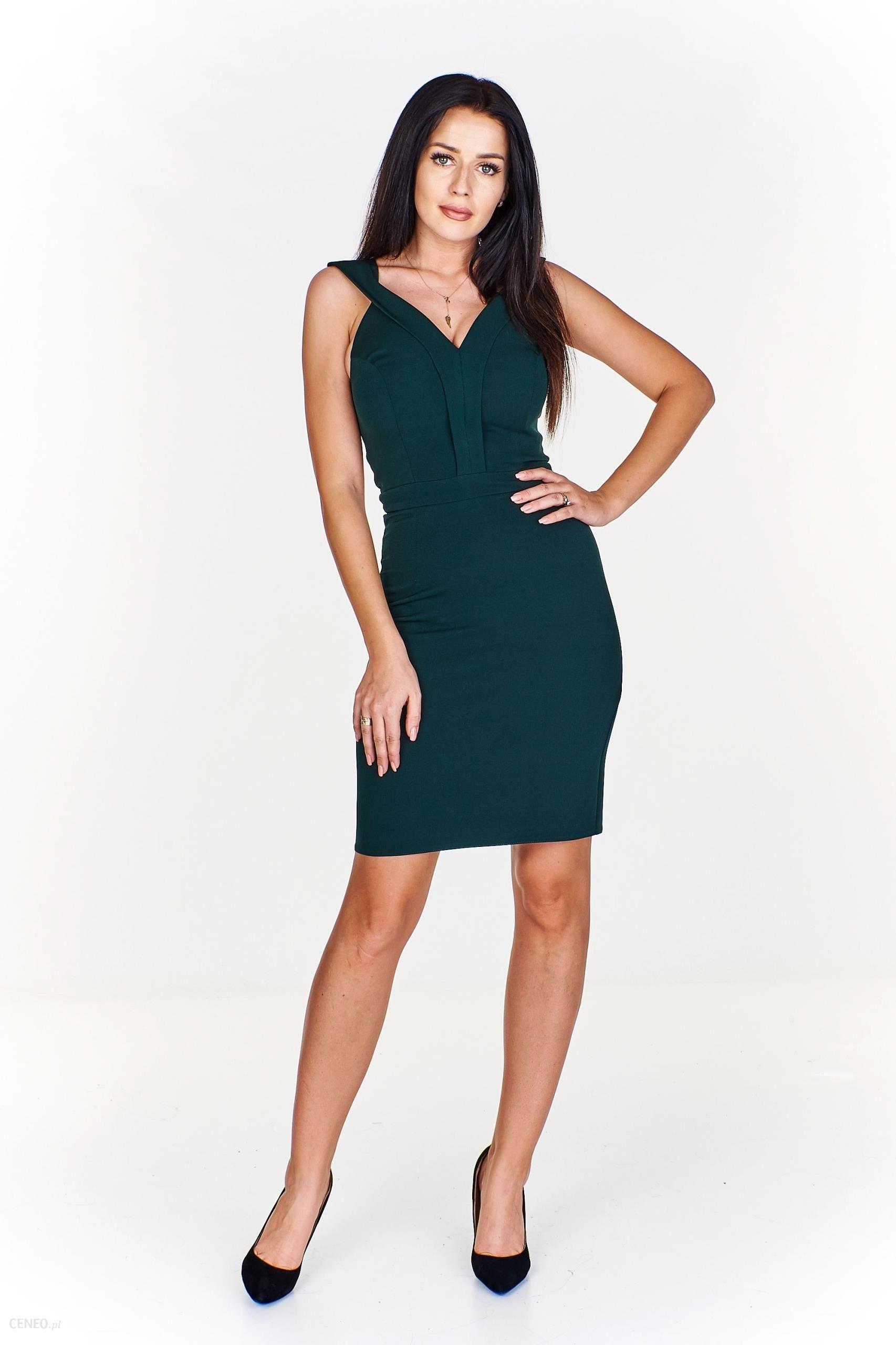 aee24eb3 Krótka elegancka sukienka M58941_1_s - Ceny i opinie - Ceneo.pl