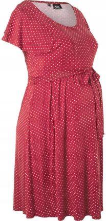 471ab1167c Sukienka ciążowa czerwony 48 50 4XL 5XL 955820 - Ceny i opinie ...