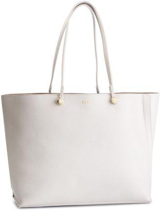 b4a77978458f8 Torebka skórzana Shopper bag zamsz naturalny Pudrowy Róż (kolory ...
