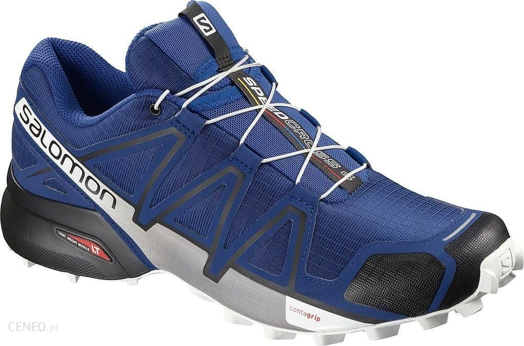 Salomon Buty męskie Speedcross 4 niebieskie r. 44 (404641) Ceny i opinie Ceneo.pl