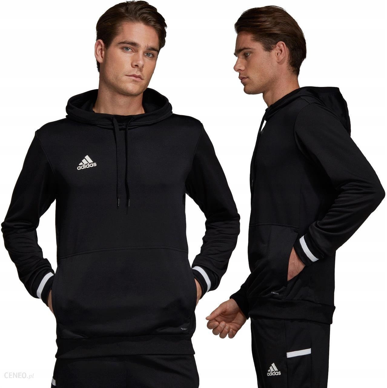 Adidas Bluza Męska Z Kapturem Czarna M