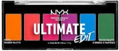NYX Professional Makeup Paleta 6 Cieni do Powiek Ultimate Edit Brights