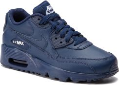 Shoes NIKE Air Max 90 Ltr (GS) 833412 412 Midnight NavyWhite