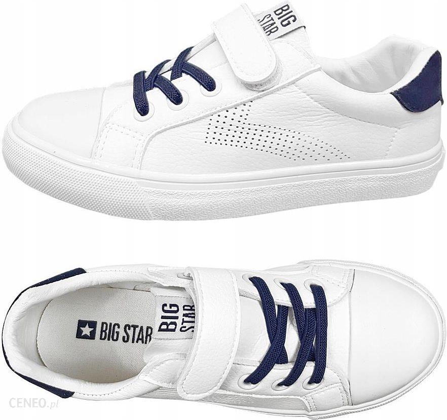 Trampki Big Star dziecięce DD374107 buty białe 34 Ceny i opinie Ceneo.pl