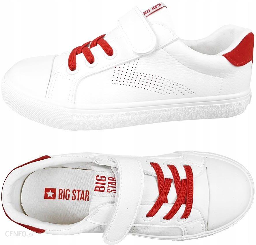 Trampki Big Star dziecięce DD374106 buty białe 35 Ceny i opinie Ceneo.pl