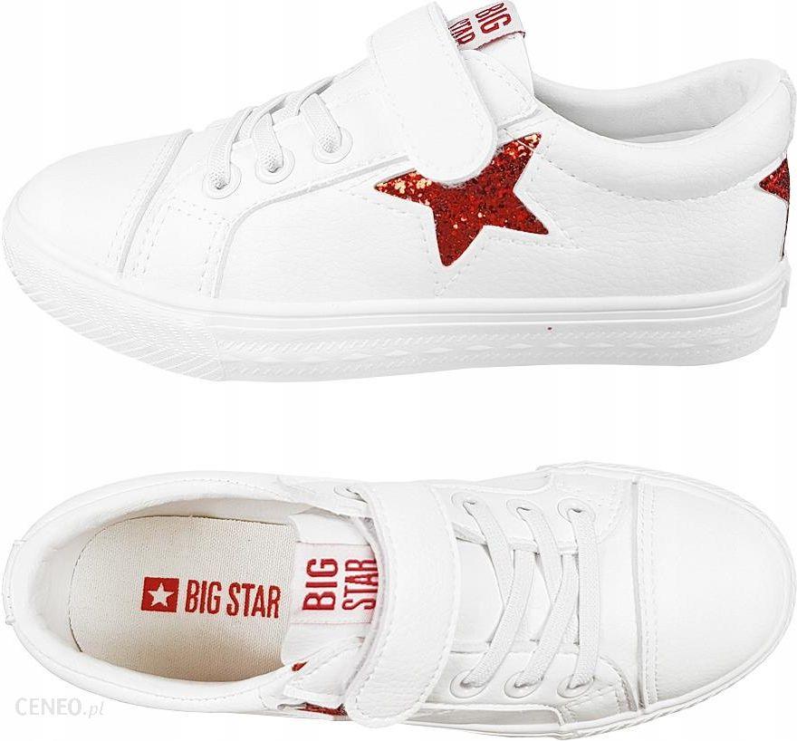 Trampki Big Star dziecięce DD374102 buty białe 34 Ceny i opinie Ceneo.pl