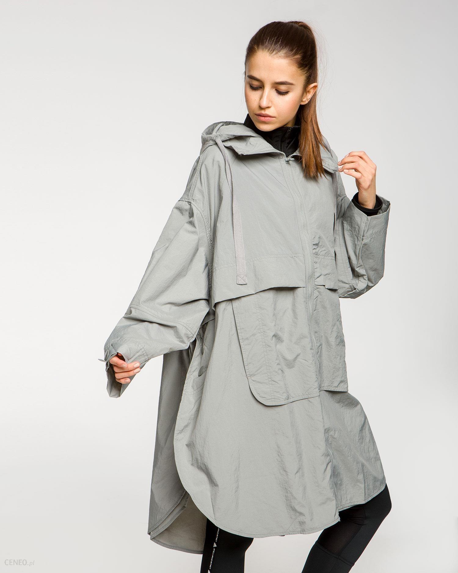 Adidas By Stella Mccartney Płaszcze Damskie I Kurtki Szare