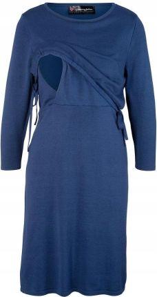 05adaa329e Sukienka dzianinowa niebieski 52 54 6XL 7XL 956866 Allegro