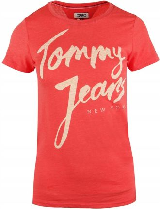d8dcd44f67f1c Tommy Hilfiger damska t-shirt DW0DW04065-689 S Allegro