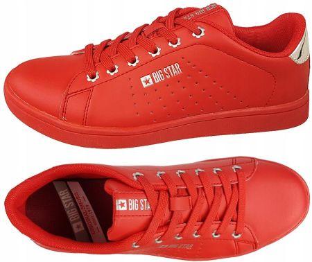 Trampki męskie Converse sportowe letnie czerwone