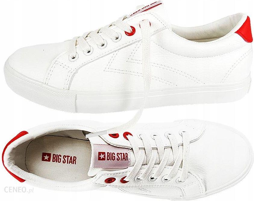Buty Big Star damskie białe BB274210 trampki 39 Ceny i opinie Ceneo.pl