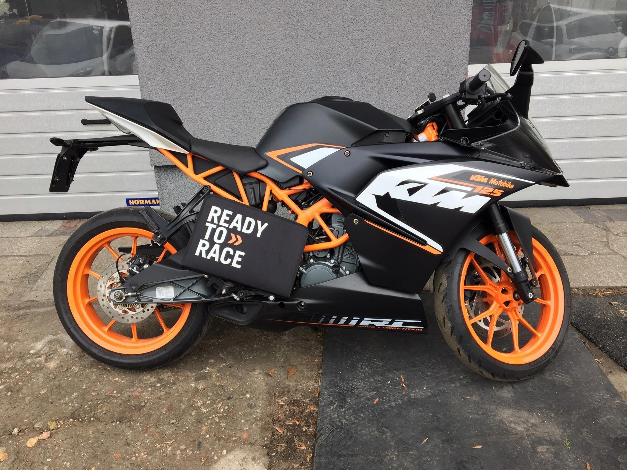 Motocykl Ktm Rc 125 Na Prawo Jazdy Kat B Opinie I Ceny Na Ceneo Pl