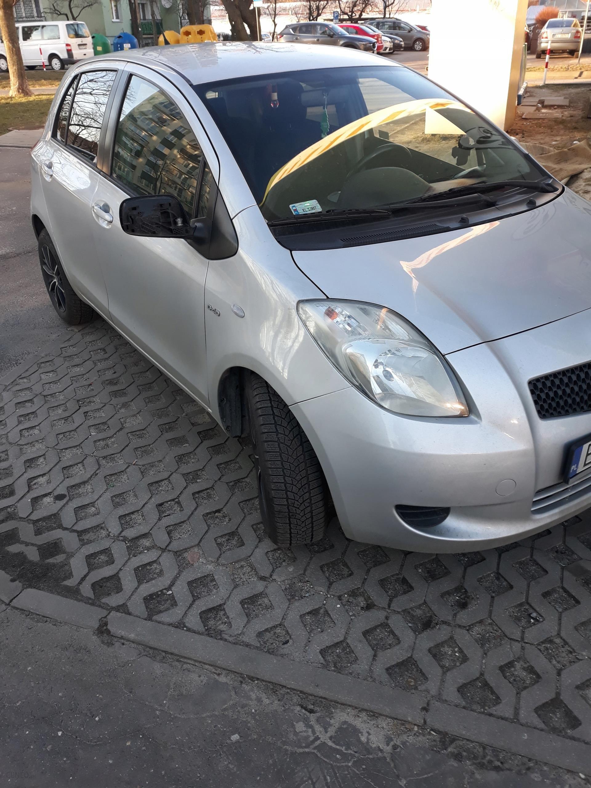 Toyota Yaris Ii 14 D 90 Km 2007 Nowe Opony Zimowe Opinie I Ceny
