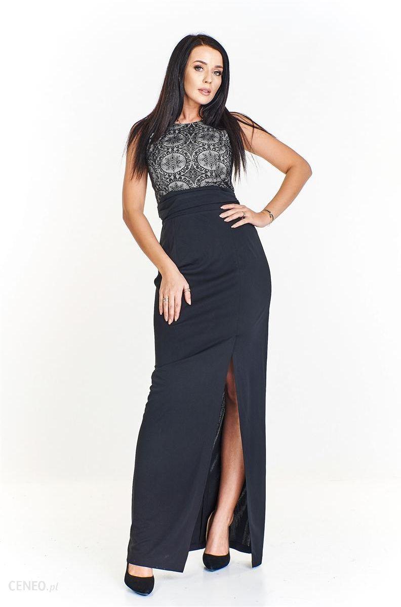 242bf3b9 Długa czarna sukienka na studniówkę