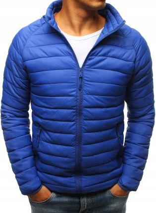 Dstreet Kurtka męska pikowana niebieska (tx2292) Ceny i