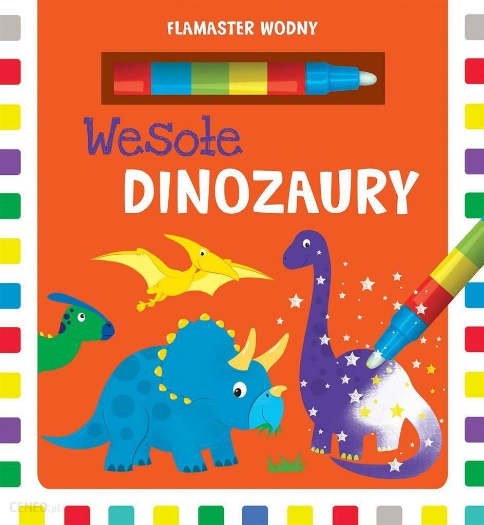 Flamaster Wodny Wesole Dinozaury Ceny I Opinie Ceneo Pl