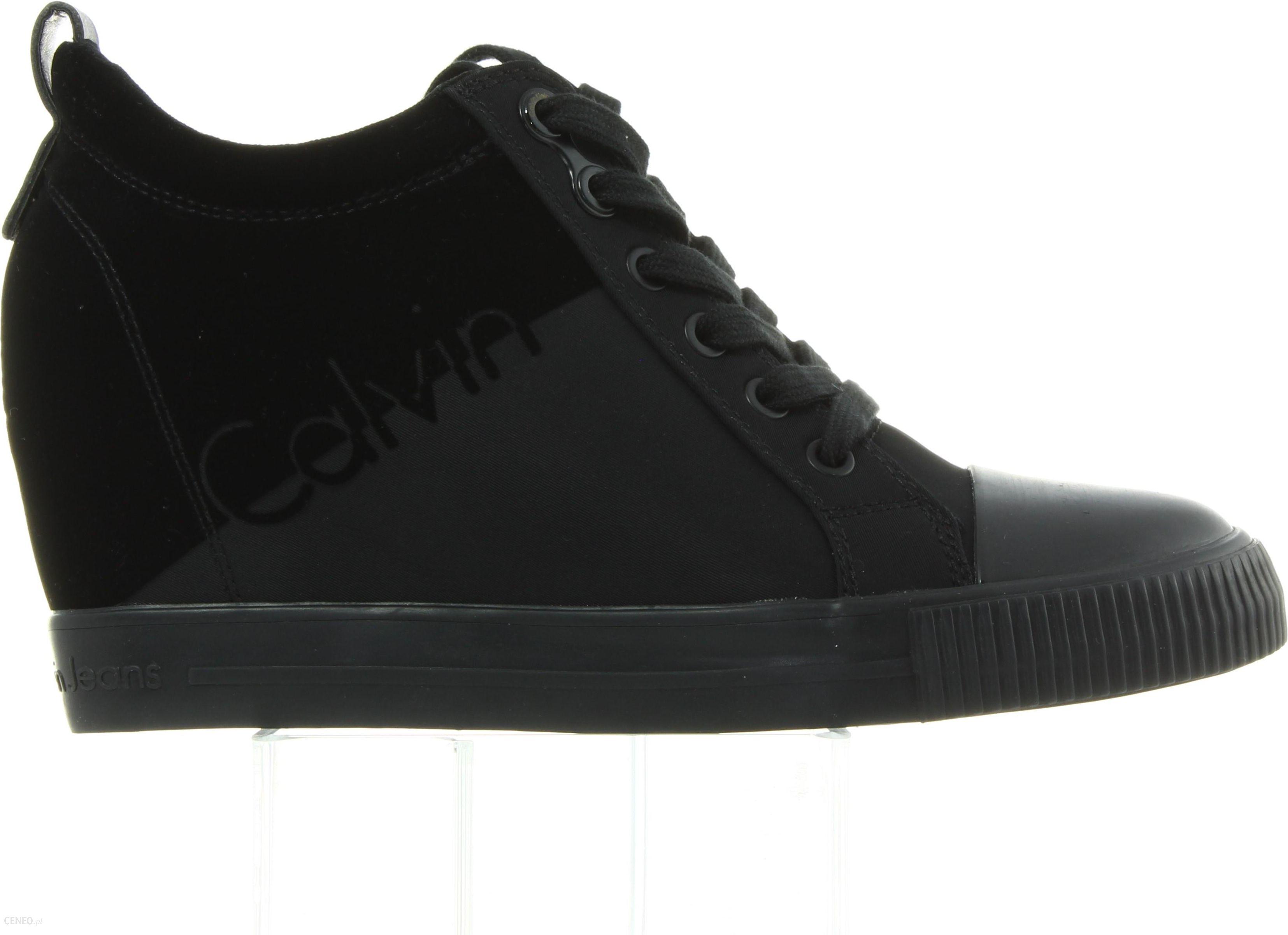 Sneakersy Calvin Klein Rory Nylon R0647 Black Black Ceny i opinie Ceneo.pl