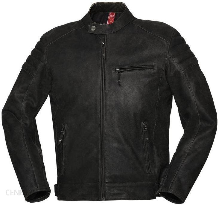 Odzież motocyklowa Kurtka Skórzana Ixs Cruiser Black 52 Opinie i ceny na Ceneo.pl