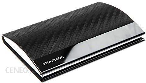 Amazon Smarteon Etui Na Wizytówki Wysokiej Jakości Etui Na Karty Z Zapięciem Magnetycznym Ze Stali Szlachetnej Eleganckie Etui Na Wizytówki Premiu