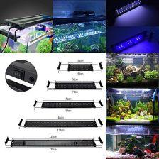 Amazon Greensun Akwarium Oświetlenie Led Akwarium Na Ryby światło Akwarium Lampy Do Akwarium Dla Fisch Tank 50cm Biały I Niebieski Ceneopl