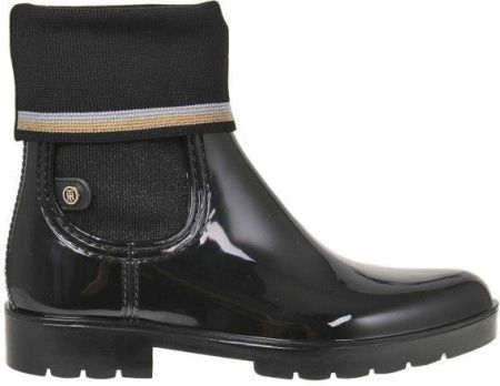 e69210a8c857c TOMMY HILFIGER KNITTED SOCK RAIN BOOT - Ceny i opinie - Ceneo.pl