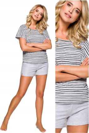 508590a260f18a piżama damska TARO IZA 2291 PASKI bawełna - XL 42