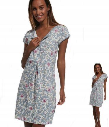 e8ecc36020738a Koszula Cornette 166 Flowers 4 XL dla karmiących Allegro