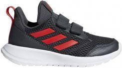 4a083d581cd39 Buty dziecięce adidas AltaRun CF K szaro czerwone CG6896