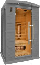 Home&Garden Sauna Infrared + Koloroterapia Dh2 Gh Grey