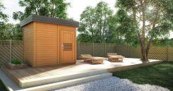 Home&Garden Sauna Fińska Zewnętrzna Prymulka